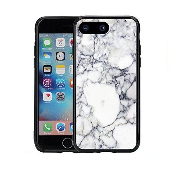 White Marbel Print For Iphone 7 Plus (2016) & Iphone 8 Plus (2017) (5.5) Case Cover By Atomic Market - intl