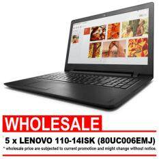 [WHOLESALE] LENOVO IDEAPAD 110-14ISK 80UC006EMJ (I3-6006/4GB/1TB/14/W10/1YR CARRY-IN ADP) FREE:BAG Malaysia