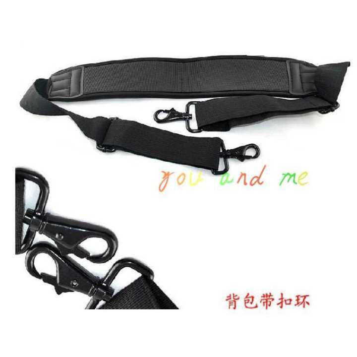 Wholesale shoulder strap High Elastic Metal buckle strap waterproof foam box bag shoulder strap halter camera bag shoulder strap