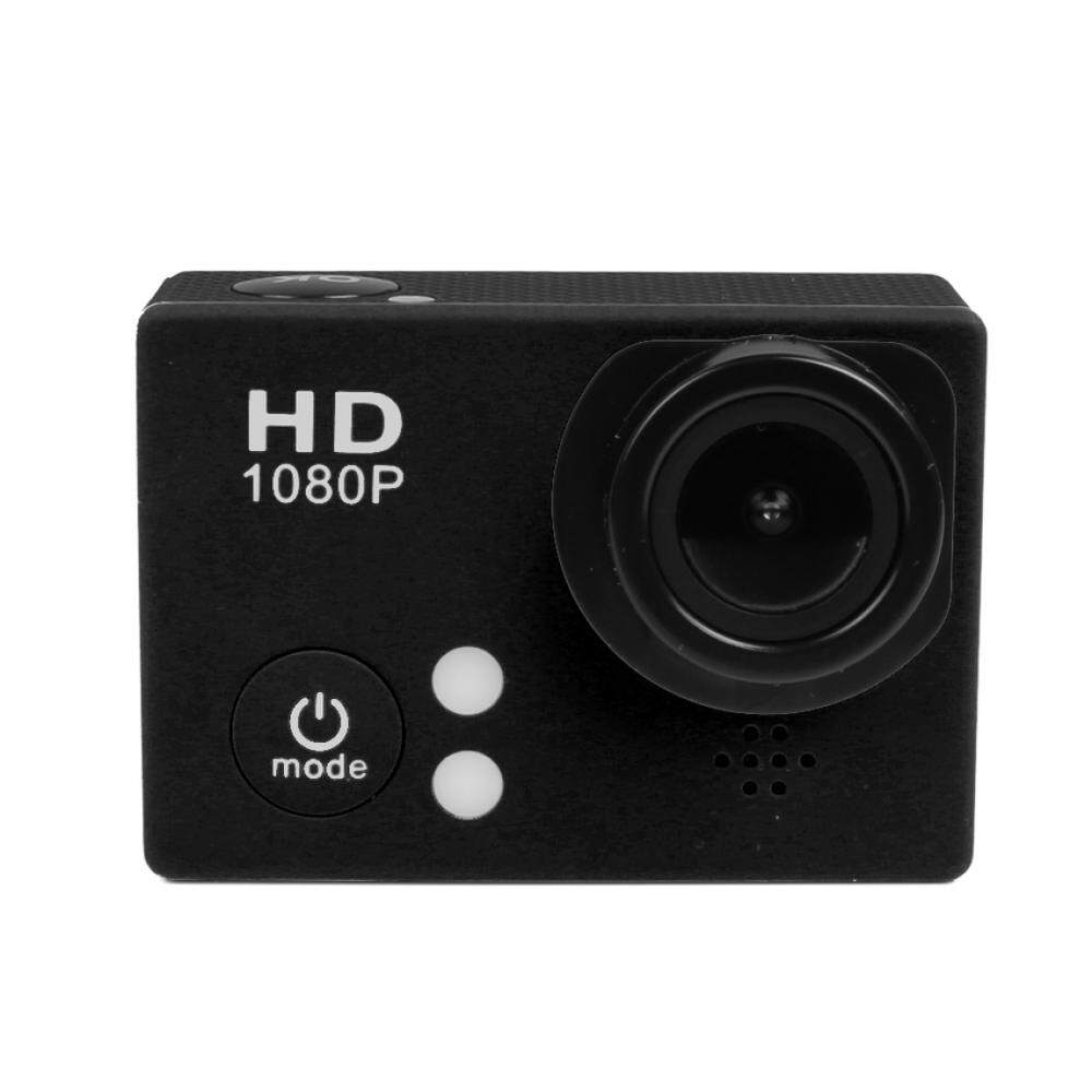 WIFI 1080P 60fps Full HD Sports DV H.264 1.5 Inch 170°Wide AngleLens Car Recorder Diving Bicycle Waterproof Sports Camera (Black)