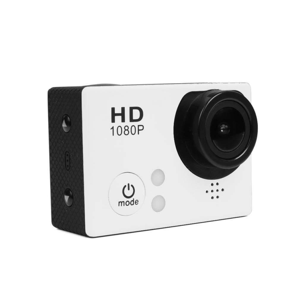 Wifi 1080 P 60fps Full HD Olahraga DV H.264 1.5 Inch ° Wide Angle Lensa Perekam Mobil Menyelam Sepeda Tahan Air Kamera Olahraga (Putih)