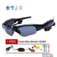 South Rise Nirkabel Bluetooth 4.0 Stereo Headset Mengemudi Panggilan Musik Bebas Genggam Pintar Sunglasse Olahraga Berkuda