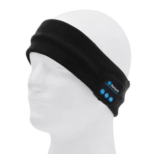2018 news!XIN CX Wireless Bluetooth Knitted Hairband headset Hands-free Music Mp3 Speaker Smart Sports Headband