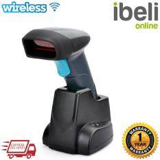Wireless Laser Barcode Scanner with Charging Base Docking Station Malaysia