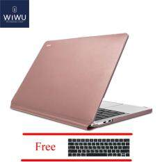 detailing 54d19 39077 WIWU 2016/2017 MacBook Pro 13 Inch PU Leather Hard Shell Case A1706 /A1708  Waterproof Laptop cover case