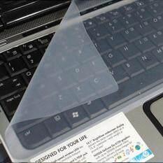 Jelas Putih Universal Keyboard Silikon Pelindung Penutup Kulit Untuk 14 Inch Laptop Notebook By Fullssl.