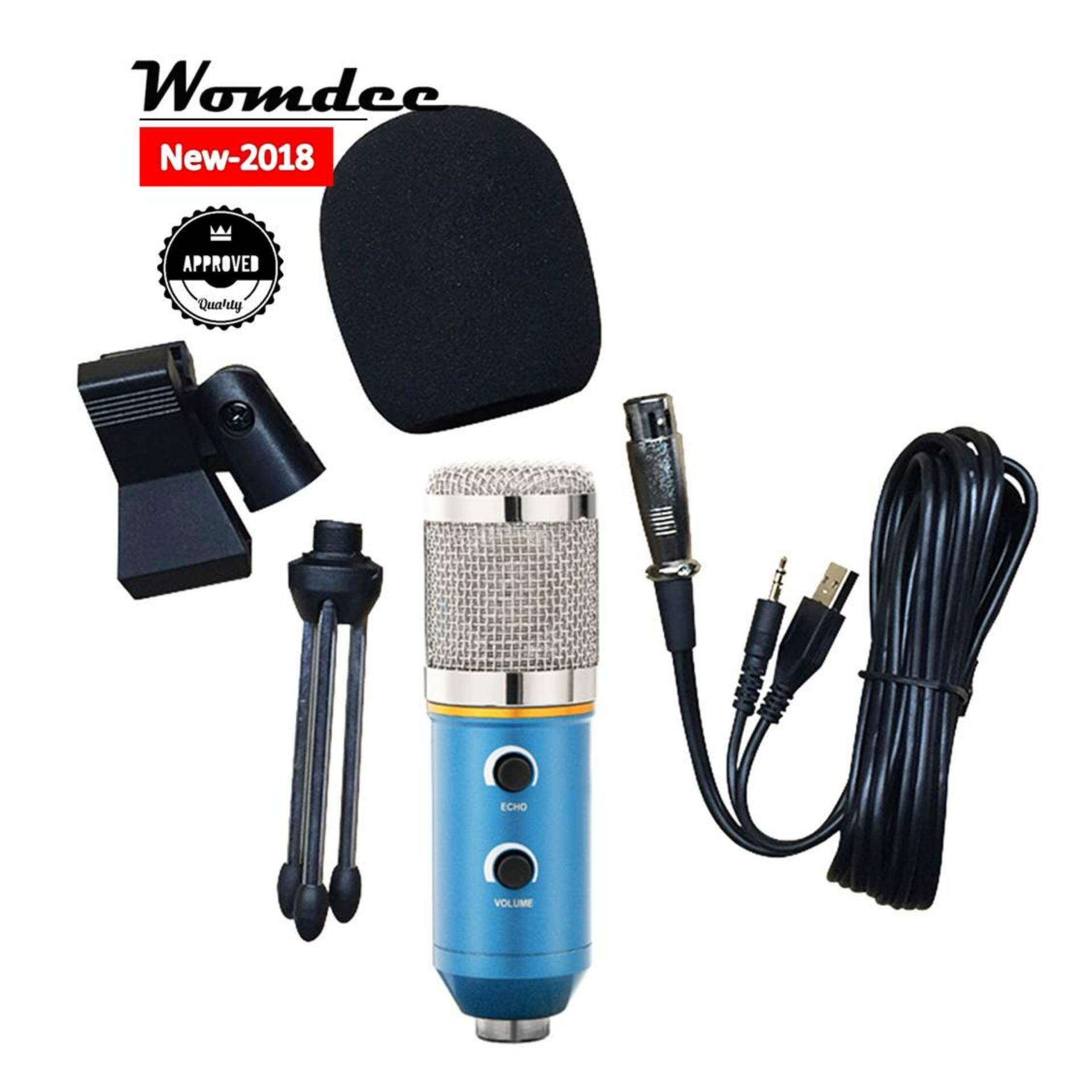 Buy Microphone Accessories Electronics Lazada Mic Mini 35mm Portable With Clip For Smartphone Laptop Tablet Pc Womdee Condenser Metal Vocal Compatible Computer Perfect