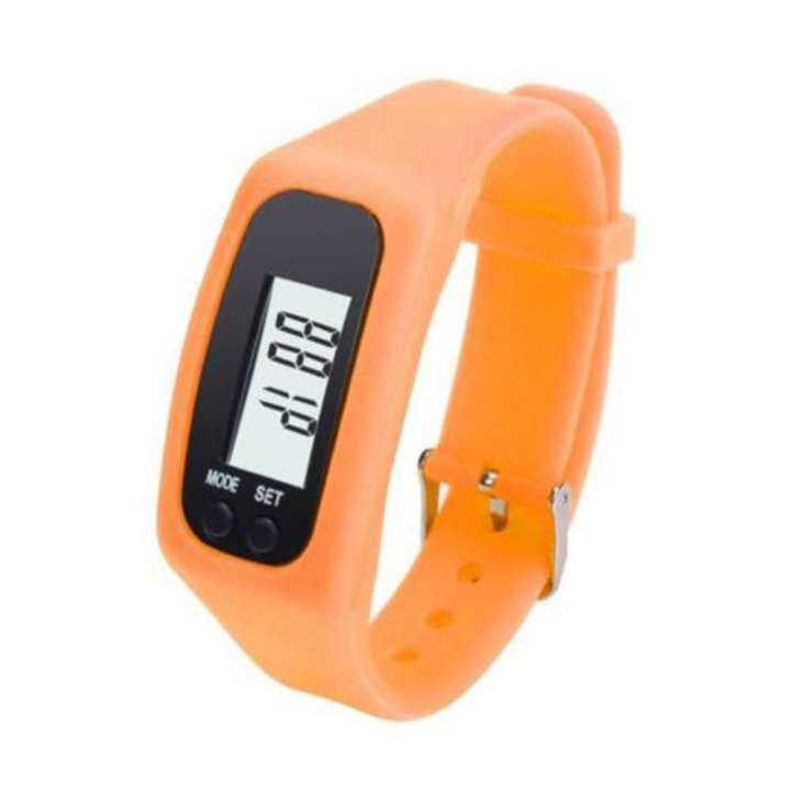 chang Wangn® Fashion Digital LCD Run Walking Distance Calorie Counter Bracelet Pedometer Wrist