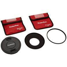 WonderPana 145 Essentials Kit - 145mm Filter Holder, Lens Cap & CPL Filter for Canon 8-15mm EF f/4L Fisheye USM Lens (35mm)