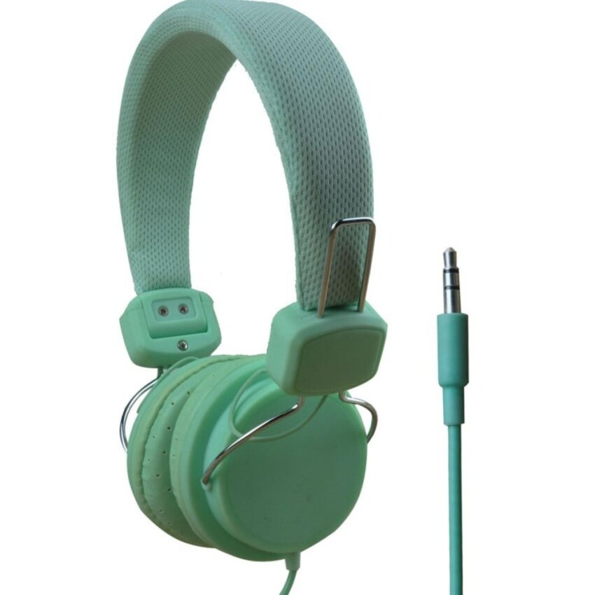 Foldable Cat Ear On Ear Headphones Flashing Glowing Gaming