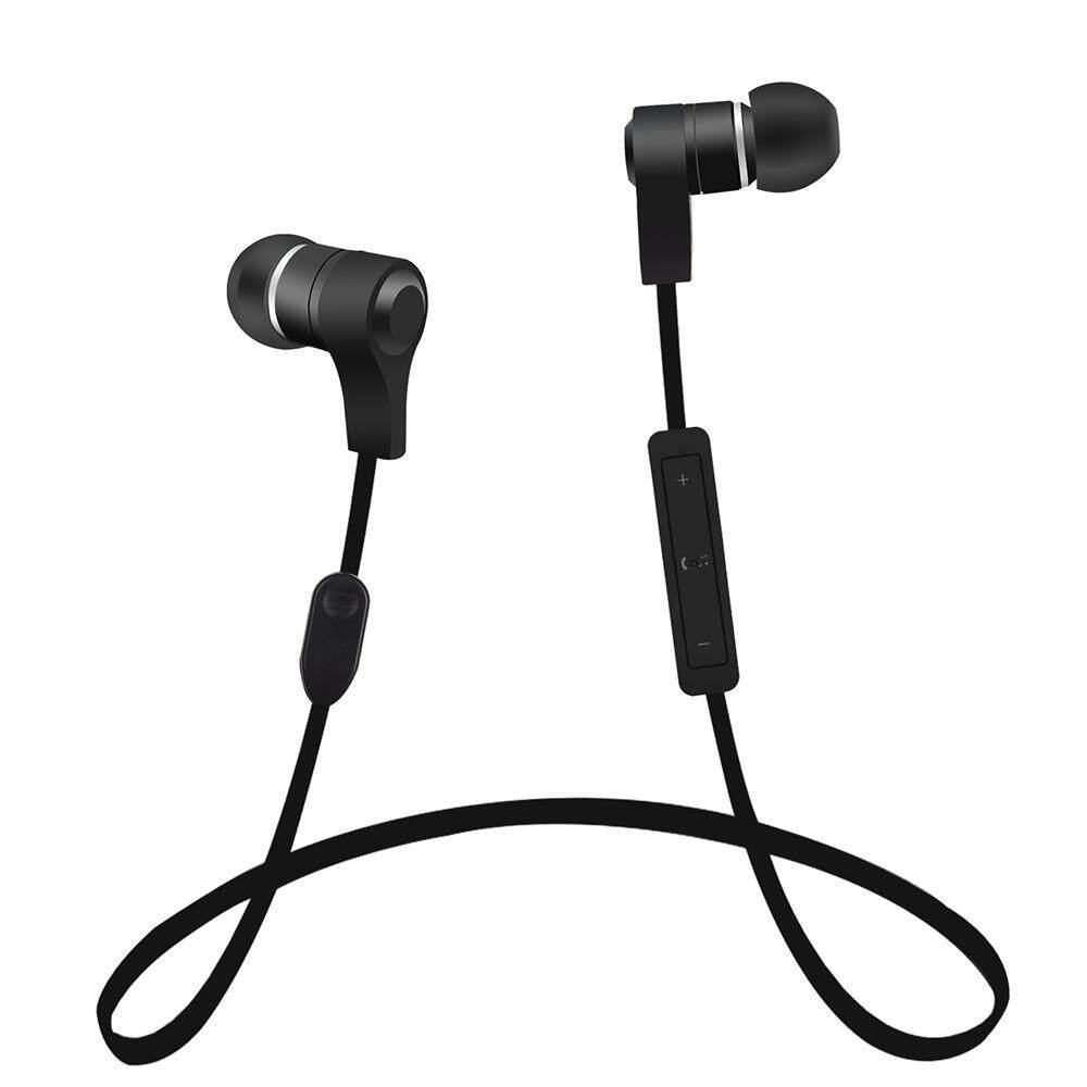 Wuzeyu H3 4.1 Bluetooth Penyumbat Telinga Runner Headset Olahraga Stereo Earphone dengan Mikrofon dan Pembatalan Kebisingan