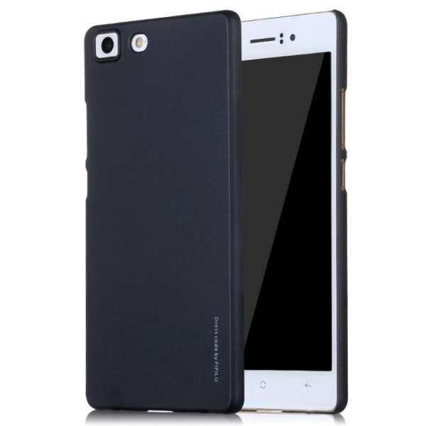 X LEVEL Rubberized Slim Hard PC Case for OPPO R5 Black intl