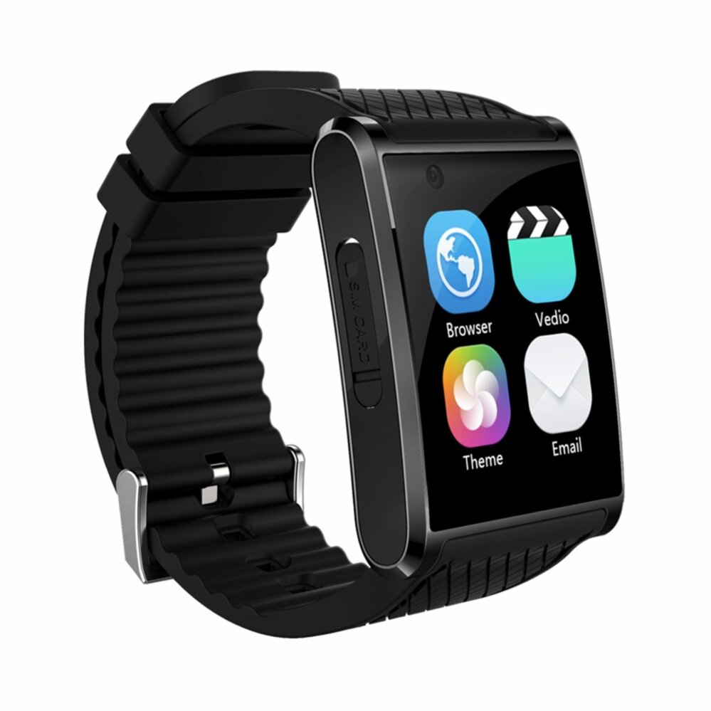 X11 Smart Watch Android 5.1 MTK6580 Quad Core 4GB+512MB Smartwatch Support 3G WIFI GPS Nano SIM Card Pedometer Camera 5.0 VS KW88 - intl