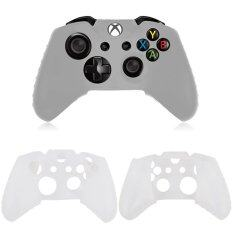Xbox One Dual Shock 4 Controller Silicone Skin White Color By Truegamers.