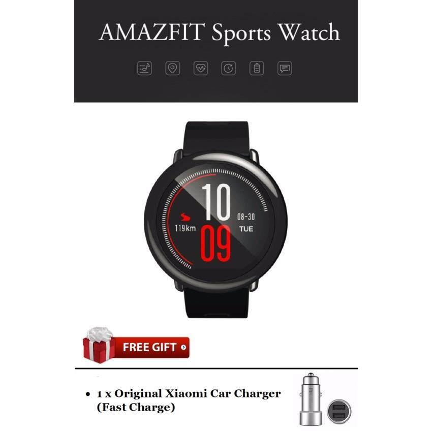 Xiaomi Huami Amazfit-GPS Jam Tangan Lari-Garansi Oleh Mi Malaysia (Versi Bahasa Inggris)