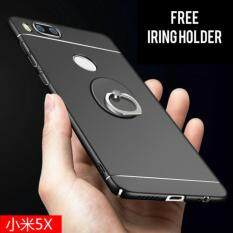 Xiaomi Mi A1 / Mi 5X Full Covered Silver Line Matte Back Case Cover [Free