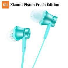 Xiaomi Piston Fresh Edition In-ear Earphones with Mic Headset (Blue)