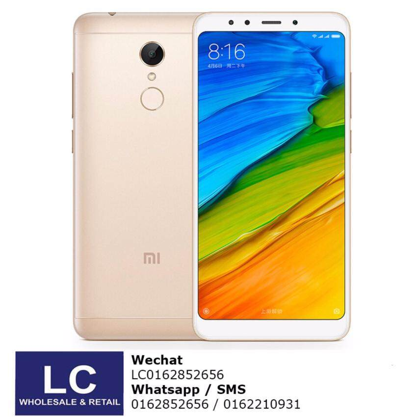Xiaomi Redmi 5 Plus 4GB+64GB Original Import / 5.99 FHD Display / Snapdragon Octa Core / Official Stable ROM / Playstore