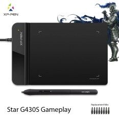 XP-Pen®G430S 4 x 3 inch Ultrathin Graphic Drawing Tablet for Game OSU and No Charging stylus- designed Gameplay