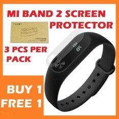 [BUY1 FREE1] XIAOMI Mi Band 2 MiBand 2 Screen protector - Pack of 3 PCS