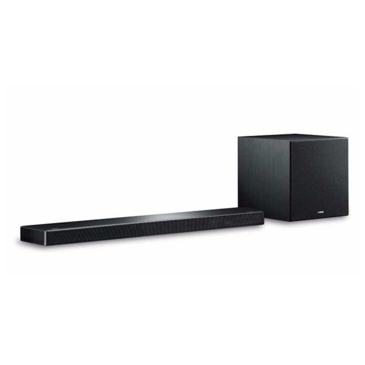 yamaha ysp 2700 7 1ch musiccast 4k hdmi airplay slim with. Black Bedroom Furniture Sets. Home Design Ideas