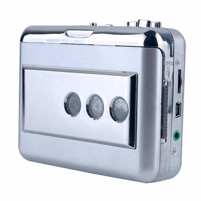 Y & H Portable Cassette Tape Converter LP/Vinyl untuk Wilayah MP3 Digital Conver Merekam Menangkap dengan Output Audio ezcap218B (Perak) -Intl