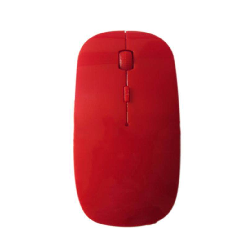 YBC 2.4 GHz Sangat Tipis Nirkabel Optik Mouse 1200 Dpi USB Computer Permainan Mouse Hadiah-
