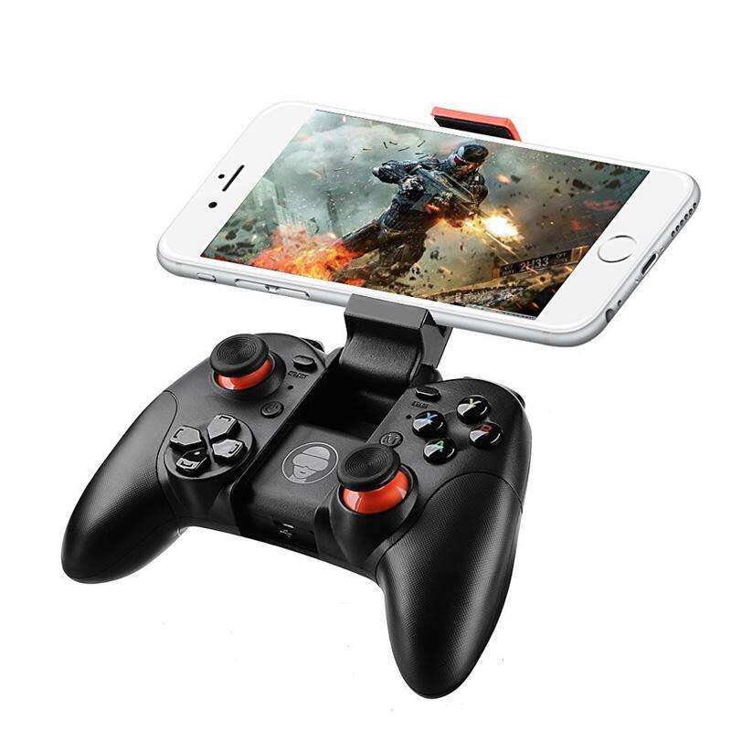 YBC Bluetooth Wireless Game Controller Gamepad Joystick with Clip for Tablet/PS3/VR -