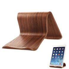 Hình ảnh YBC Universal Wooden Double-sided Table Stand for iPad