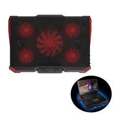 YBC USB Cooling Pad Adjustable Speed Laptop Cooler Heatsink For 14-17 Inch Laptop Malaysia