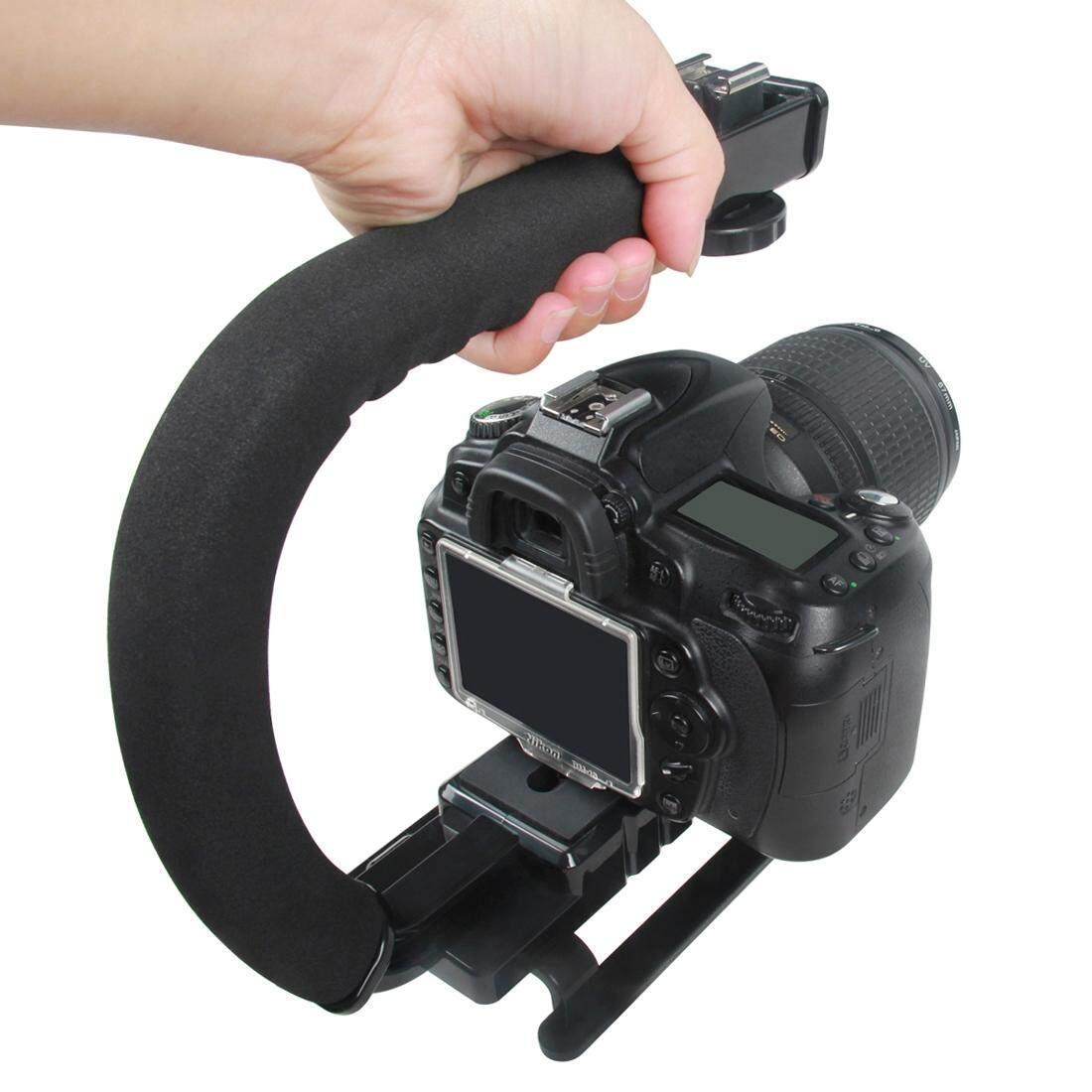 Gracefulvara Kamera Bahu Leher Vintage Tali Sabuk untuk Sony Nikon Canon ... Source ·. Source · Yelangu S2-1 YLG0106B-A Pegangan Video Berbentuk C DV Braket