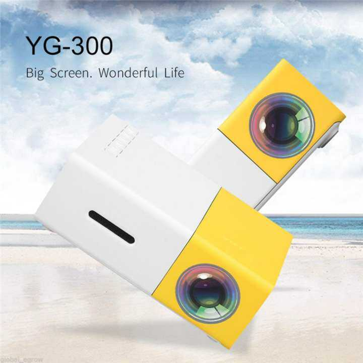 Yg300 Lcd Mini Support Portable Projector Home Theater