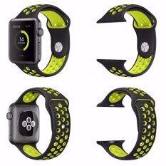 Yika Silikon Olahraga Gelang Tali untuk Apple Jam Tangan Tali Nike + Seri 2/1