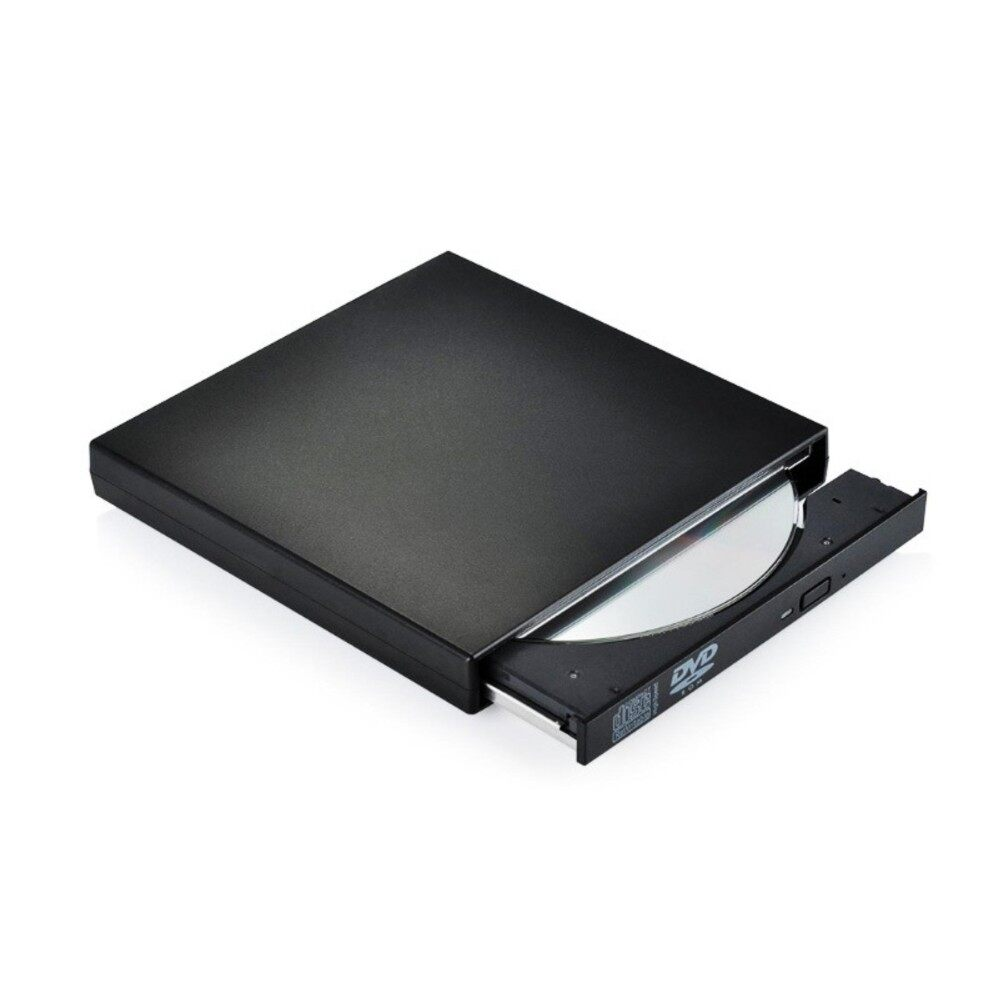 Yika USB2.0 External Drive CD-RW Drive DVD-R Combo Burner Player Writer for Laptop PC