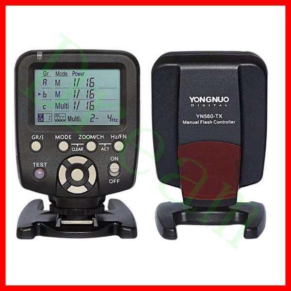 LXVK YONGNUO 560 TX Manual Flash Controller Transmitter LCD Wirelss Trigger Remote for YN-560 III YN560 IV,RF-602 RF-603 RF-603 II - intl