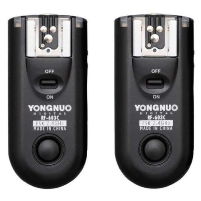 Yongnuo RF-603C Flash Trigger Transceiver - intl