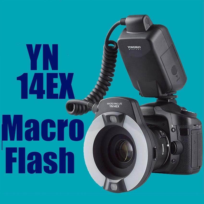 Yongnuo YN-14EX TTL Macro Ring LCD Flash for Canon 650D 6D 700D 100D 70D 1200D Cameras