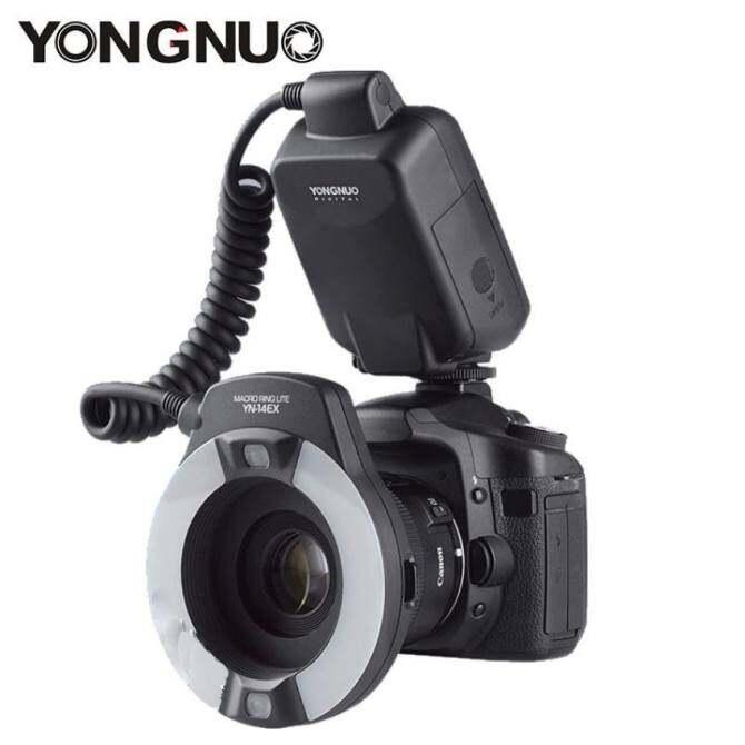Yongnuo YN-14EX TTL Macro Ring Lite Flash Speedlite Light for Canon5Ds 5Dsr 760D 5D Mark III 6D 7D 60D 70D 700D 650D 600D - intl
