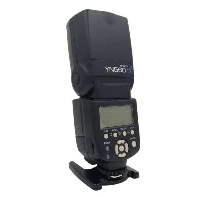 Yongnuo YN-560 IV Flash Speedlite for Canon EOS 5D,5D25D Mark II, 1Ds Mark [ IV / III / II / I ], 1D Mark [ III / II N/ II / I],7D, 60D ,50D, 40D, 30D, 600D, 550D, 500D, 450D, 400D, 350D ,300D,1100D,1000D 650D 5D2 5D Mark III 6D - intl