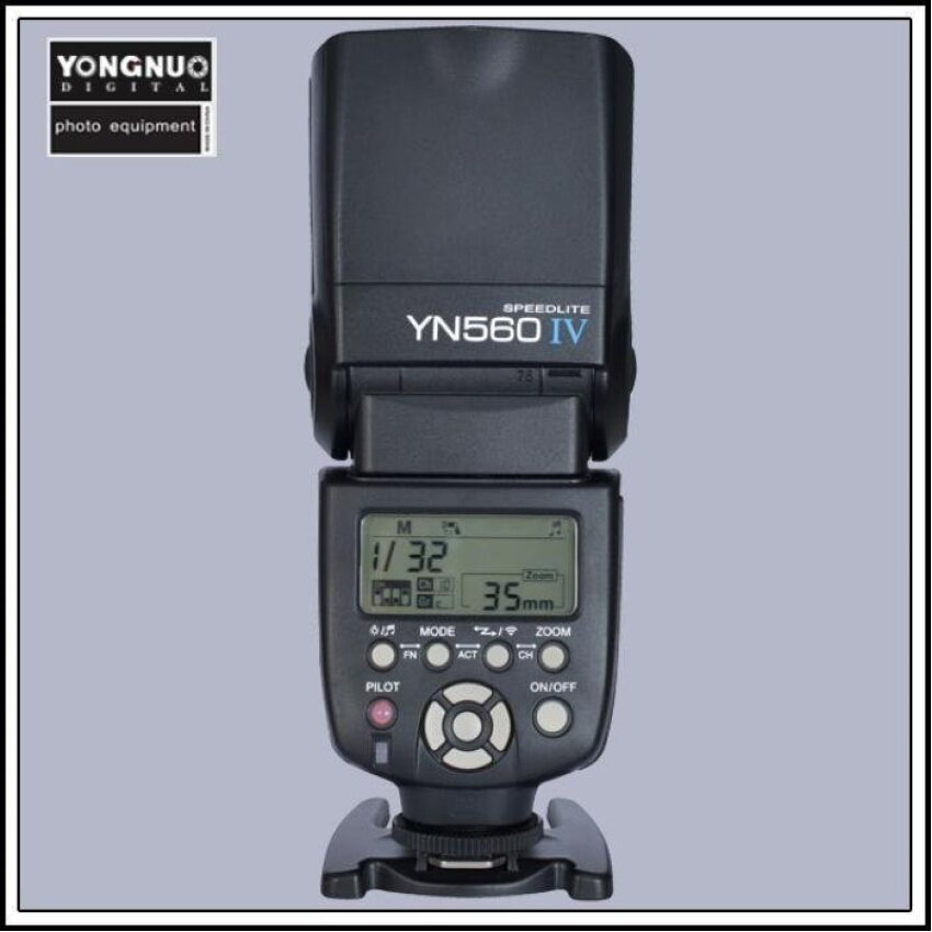 Yongnuo YN-560 IV Flash Speedlite for Canon EOS 5D,5D25D Mark II,1Ds Mark [ IV / III / II / I ], 1D Mark [ III / II N/ II / I],7 - intl