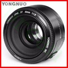 Yongnuo YN50mm F1.8 Standar Lensa Utama Aperture Besar Auto Lensa Fokus untuk Canon EOS 60D 70D 5D2 5D3 7D2 750D 650D Kamera DSLR