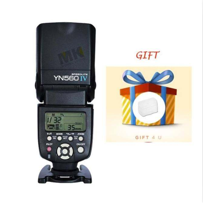 YongNuo YN560 IV Speedlite Flash Gift Diffuser Suitable ForDSLRCameras - intl