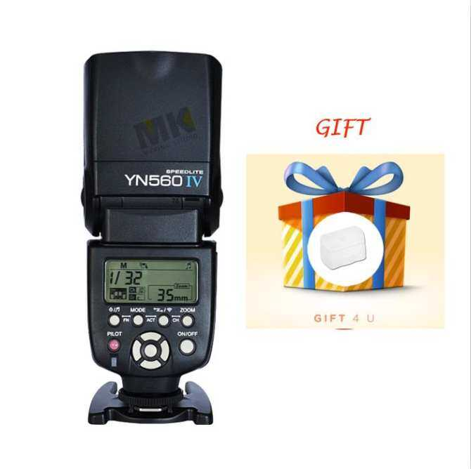 YongNuo YN560 IV Speedlite Flash Gift Diffuser Suitable For DSLRCameras - intl