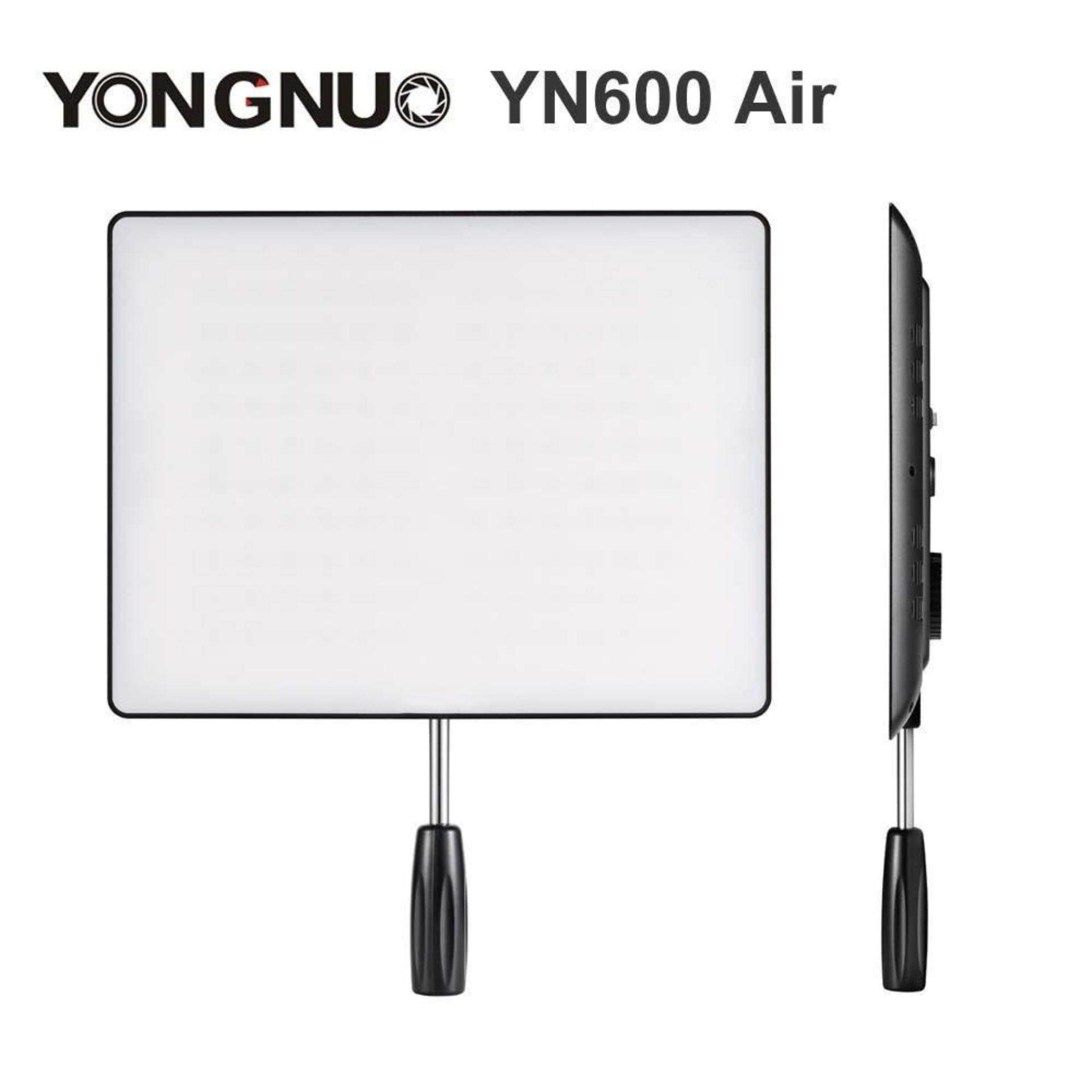 Cheaper Yongnuo Yn600 Air Ultra Thin Led Camera Video Light Panel 3200K 5500K Bi Color P Intl