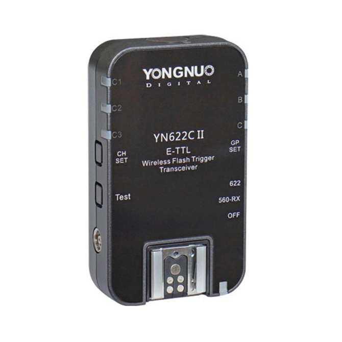 Yongnuo YN622C II Wireless TTL HSS 1/8000S Flash Trigger For Canon EOS - intl