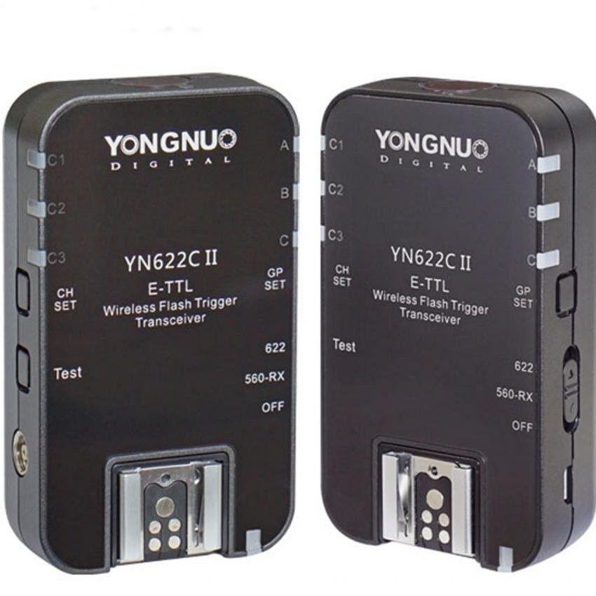 Yongnuo YN622C II YN 622C II HSS E-TTL Blitz Pelatuk untuk Canoncamera Kompatibel dengan YN622C YN560-TX RF-603 II RF-605- internasional
