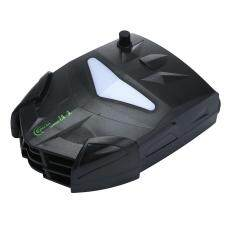yooc Laptop Cooler With Vacuum Fan, Laptop Air Extracting Cooling Fan (Black) Malaysia