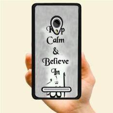 Fashion Muda Penjualan Terlaris Sederhana Berkat Islam Style Tetap Tenang dan Percaya Kreatif Plastik Keras Berpola Casing Ponsel untuk Samsung Galaxy S6 Aktif (Banyak Warna)