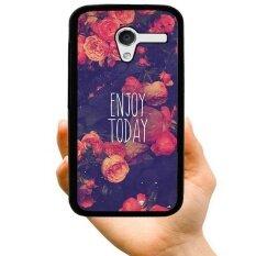 Fashion Muda Penjualan Terlaris Lucu Nikmati Hari Ini Kreatif Plastik Keras Berpola Casing Ponsel untuk Sony C3 (Aneka Warna)