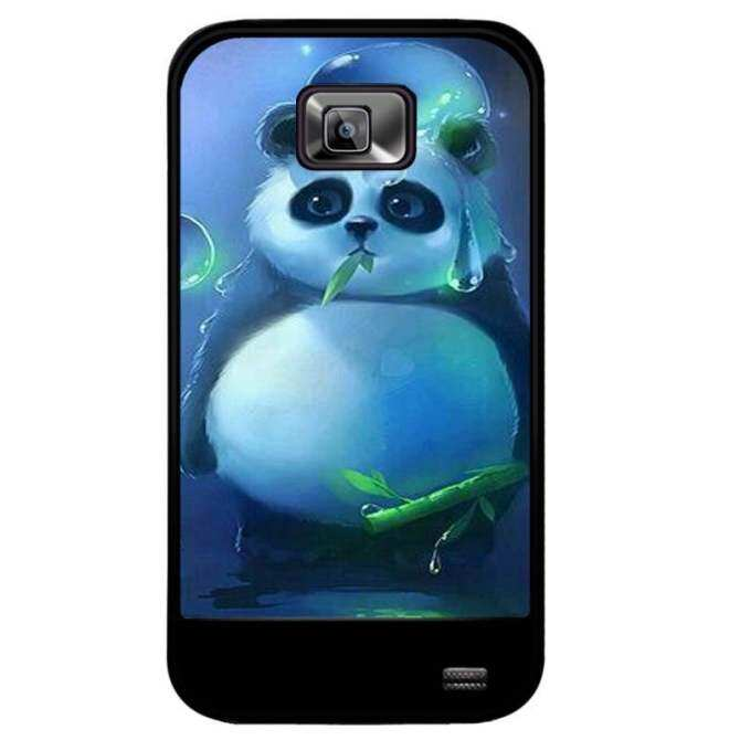 Young Fashion Hot Sale Cute Little Panda Eating Bamboo Pattern Phone Case For Samsung Galaxy S2